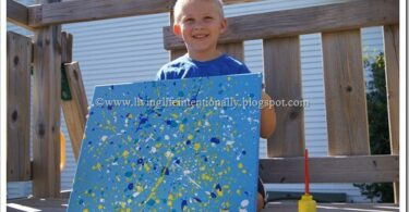 Jackson Pollock Art for Kids