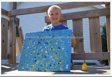 Jackson Pollock Art for Kids