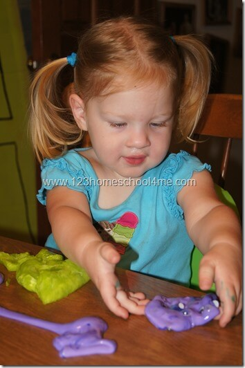Slime Recipe for Toddlers