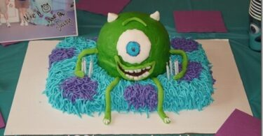 Monsters Inc. Birthday Party