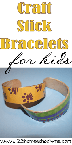 Craft Stick Bracelet Craft - amaze kids as they literally bend wood craft sticks to make beautiful bracelets! This is such a fun craft for kids to add to your summer bucket list! #summerbucketlist #craftsforkids