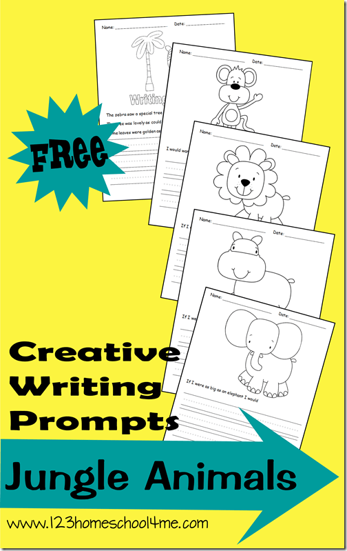 Kids will love practicing their handwriting and writing skills with these super cute, freejungle writing prompts. These animal writing prompts are perfect for Kindergarten, first grade, 2nd grade, 3rd grade, and 4th grade students. Theseanimal writing activities are a fun way for children to get excited about learning with writing ideas that will inspire children to be creative and write on ruled lines. Simply download pdf file withfree writing promptsand you are ready for some no-prep writing for kids!