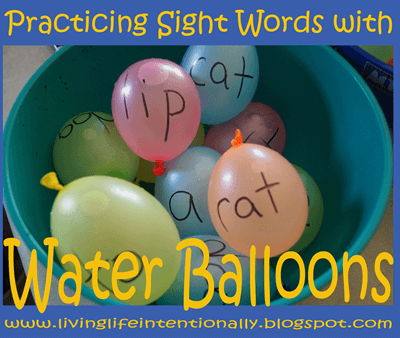 Water Balloon ABCs