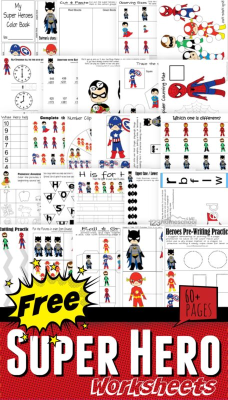 image relating to Superhero Letters Printable named Totally free Alphabet Superhero Cuff Printable 123 Homeschool 4 Me