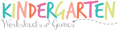Kindergarten Worksheets and Games Header