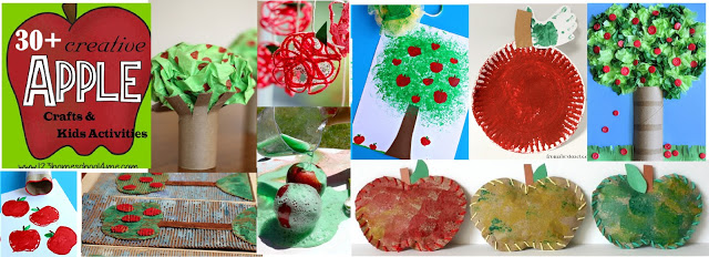 Apple Crafts for Preschool