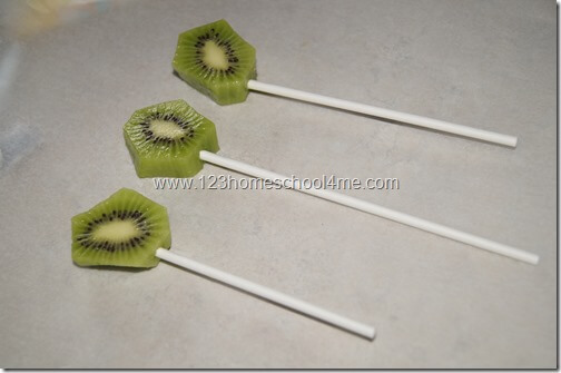 insert a popsicle stick