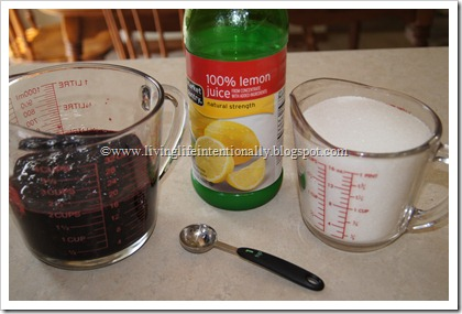 Homemade Jam with 3 ingredients