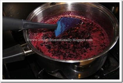 boil the fruit