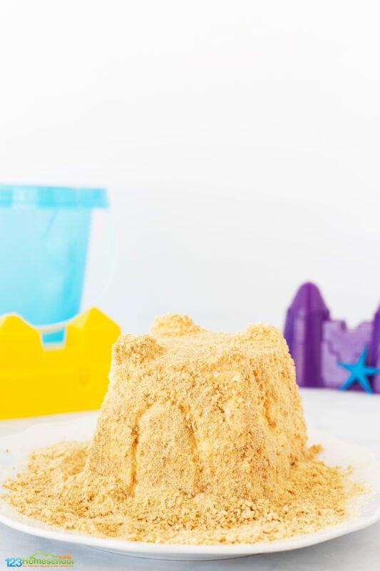 Sandcastle Activity for Kids
