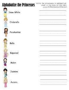 disney-princess-name-tracing-worksheets