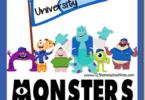 Monsters Inc. Worksheets