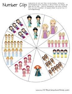 princess-counting-activity-math