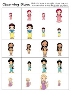 princess-kindergarten-math