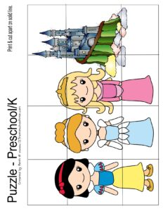 princess-kindergarten-puzzles