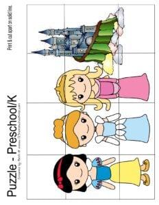 princess-kindergarten-puzzles