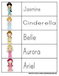 princess-printables