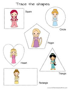 princess-shape-practice