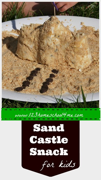 Ice Cream Sandcastle summer snack for kids - this is such a clever idea I don't know why I didn't think of this!! What a really fun, memorable idea to add to our summer bucket list!