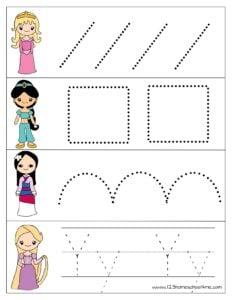 sleeping-beauty-jasmine-mulan-tangled-tracing-pages