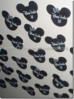 Free Printable Mickey Mouse Disney World Countdown for Kids