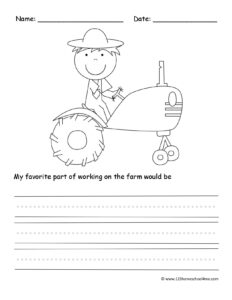 farm free creative writing prompts printables free