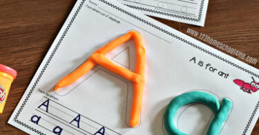 FREE-Alphabet-Playdough-Mats