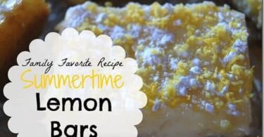 Favorite Lemon Bar Recipe