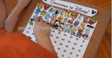 FUN Disney Countdown Ideas