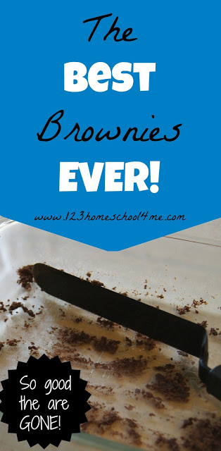 The Best Brownie EVER - seriously! #recipes #chocolate