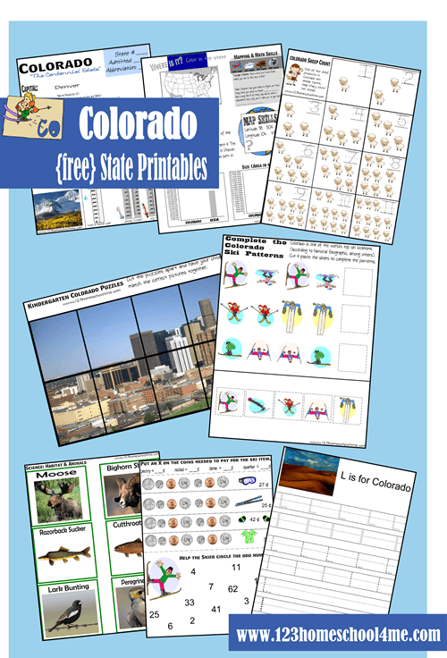 Colorado Worksheet