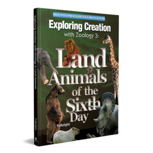 zoology exploring land animals by Young Explorers Apologia