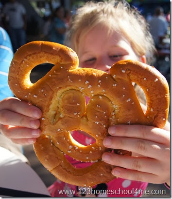 Best Snack Credit at Disney Magic Kingdom - Mickey Pretzel