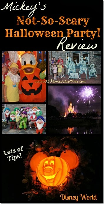 Mickey's Not So Scary Halloween Party Disney World Review