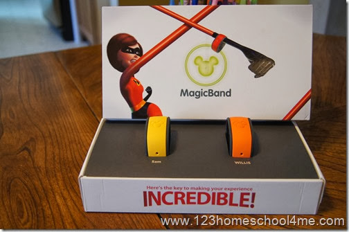 magic bands presentation is amazing! You want one too, don't you!