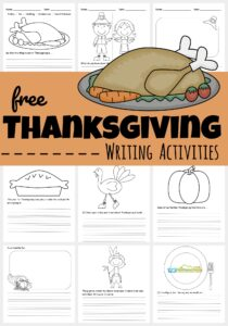 It's so important for kids to be writing and reading all year long. Writing is like math, it requires daily practice to maintain.  To keep your kids writing during the month of November,  I created these Thanksgiving Writing Prompts. This no prep, easy Thanksgiving Writing Activities make it fun for kindergarten, first grade, 2nd grade, 3rd grade, and 4th grade students to improve writing skills this fall!