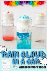 Make learning about clouds for kids FUN with these engaging cloud activities. As children learn all about clouds for kids they will try the rain cloud experiment, cotton ball cloud activity for kids,grab the cloud printables, and make a cloud in a bottle. Use thecloud in a jar experiment with toddler, preschool, pre-k, kindergarten, first grade, and 2nd grade students. Whether you do all the cloud lesson or just the hugely popularrain experiment - this is sure to be a fun spring activity for kids!