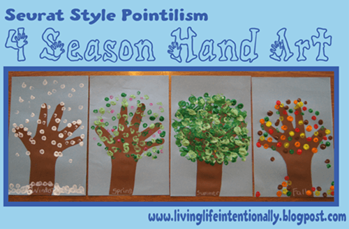 pointilissm season art