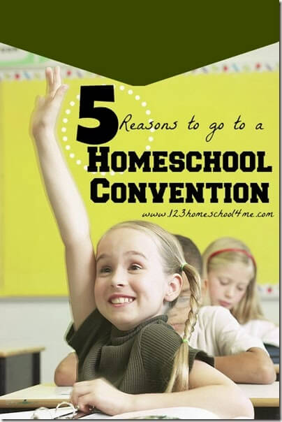 5 Reasons to go to a Homeschool Convention