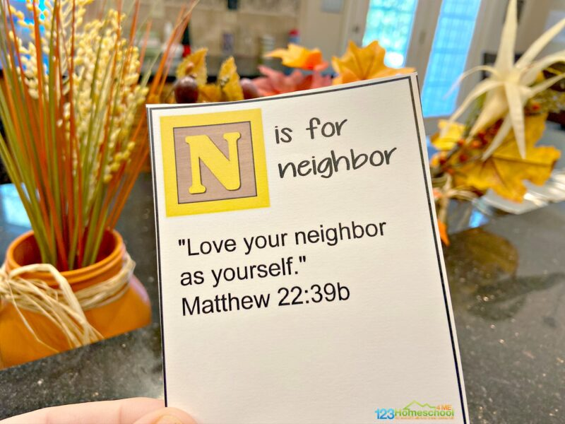 Bible Verses for Families to Memorize