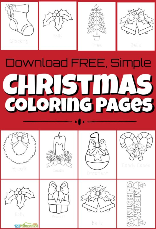 - 🎄 FREE Christmas Coloring Pages