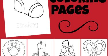 Celebrate the holiday season this December with these super cute, free Christmas coloring pages. These simple Christmas coloring sheets are a fun, no-prep Christmas worksheet for toddler, preschool, pre-k, kindergarten, and first grade students. Kids can color the ornament, holly, wreath, stocking, candle, candy canes, present, bells, Christmas tree, and Merry Christmas greeting for a fun Christmas Activity.