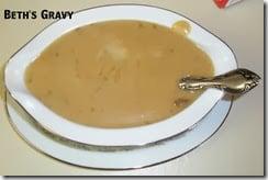 beth's yummy made from scratch gravy