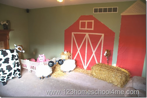 Farm Party Decorations DIY Marshmallow Fondant Sheep