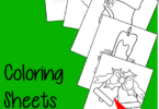 FREE Christmas Coloring Sheets