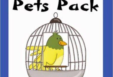 Pet Worksheets for Kids