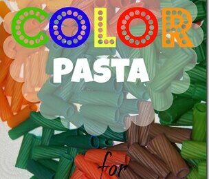 How to Color Pasta for Crafts