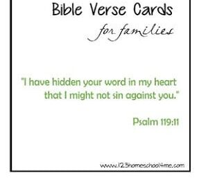 FREE Family Scripture Verses