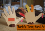 Thankful Turkey Hand Art