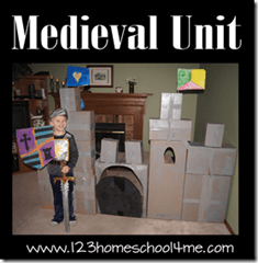 homeschool history lesson plan middle ages unit